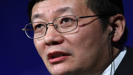 Lou Jiwei, chairman of China Investment Corp.